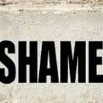 Shame on me – very shameful story